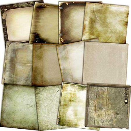 Twelve vintage backgrounds free download