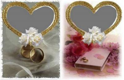 Wedding Frames for Photoshop