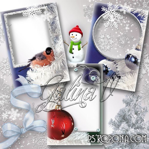 Photoframes - In Winter Forest download