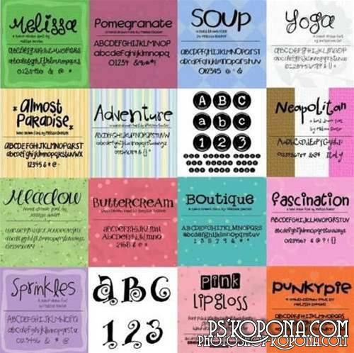 Boutique Font Pack