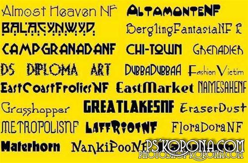 428 Fonts