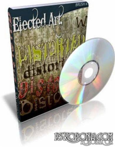 Distorted Fonts Collection Elected Art