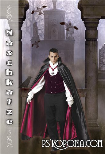 Free Download Template - Graf Dracula