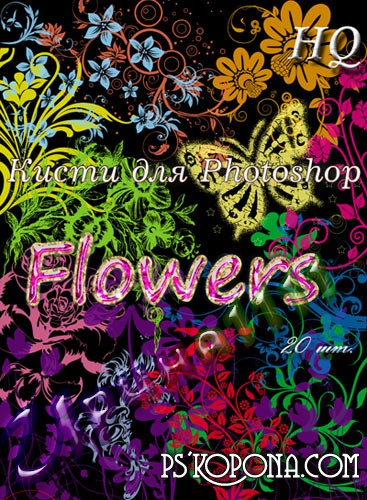 ABR  Brushes for Photoshop flowers free download