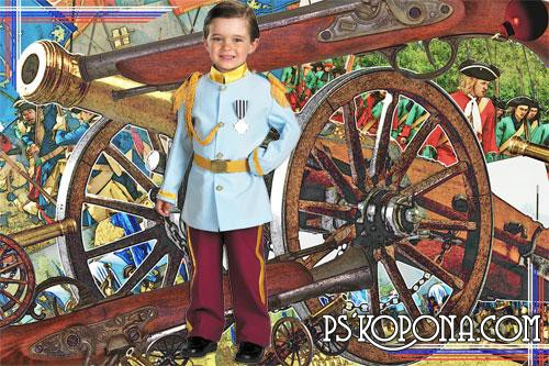 Шаблон для Photoshop - Слава героям