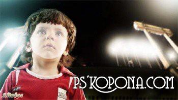 Шаблон для фотошоп - Маленький футболист!