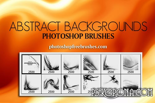 Abstract Background Photoshop Brushes ABR free download