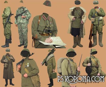 Советская военная униформа 2-й мировой войны