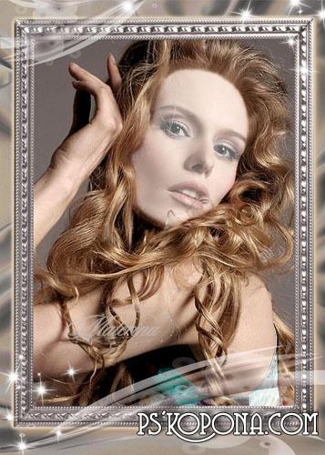Шаблон для фотошоп - Портрет