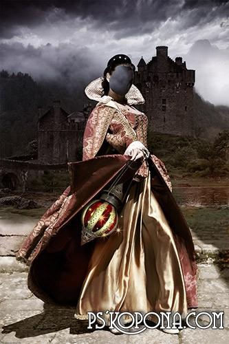 Женский шаблон для фото - Её Величество
