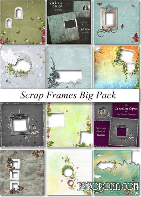Scrap Frames Big Pack