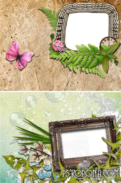Love scrap frame