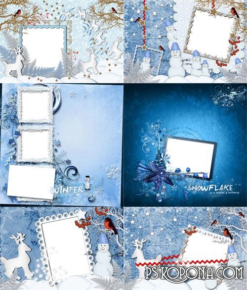 Winter scrap-page