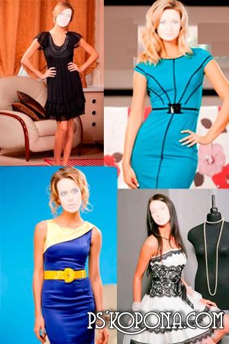 Шаблоны Коллекция вечерних и коктейльных платьев 2