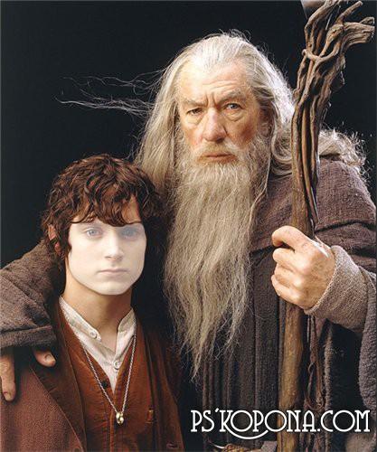 Шаблон для Фотошоп  Фродо