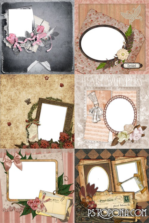 7 Quick Pages - Vintage Romance