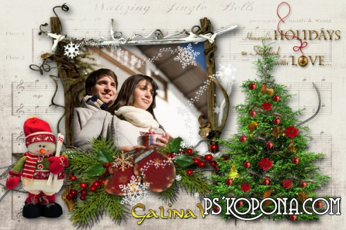 Photoframe - Lovely Holidays