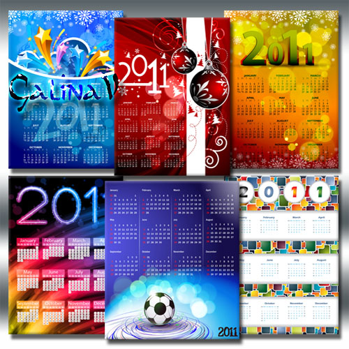 Collection of Calendars 2011