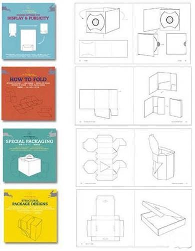 Collection raskroek boxes and packages in the vector