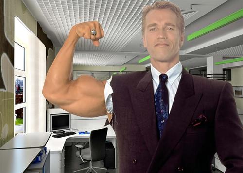 мужской шаблон для фотошопа: Супер менеджер.