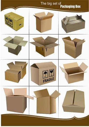 Big Set of Packaging Box