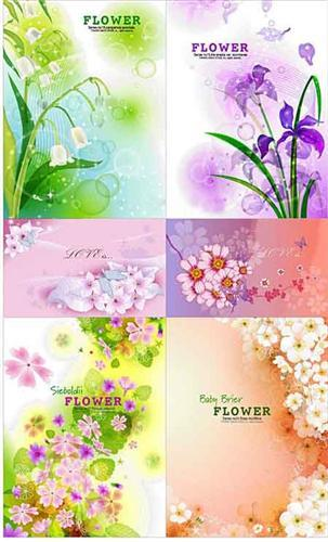 New Vector Flower compositions