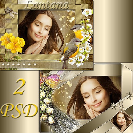 PSD Frames - Spring Dream