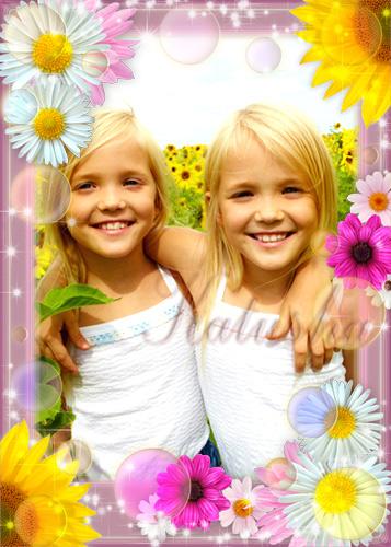 Children's Frames for Photo - Sunbeams