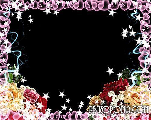 Frame for Valentine's - Energy of love