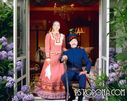 Template for photoshop - the Cossacks
