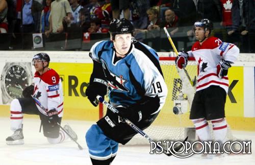 Шаблон для фотошопа - Хоккей,игра для настоящих мужчин 2