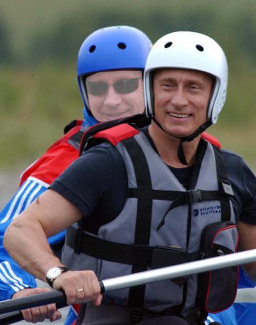 Шаблон для фотошопа - Фото с Владимиром Путиным
