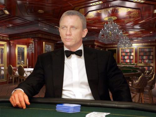 Шаблон для фотошопа - Casino royal