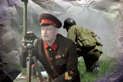 Шаблон для фотошопа - По дорогам войны,Последний рубеж