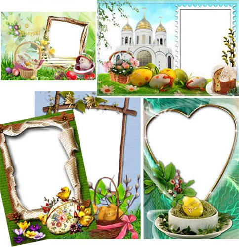 Nice frames - Happy Easter