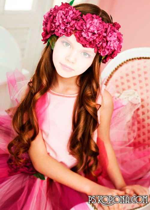 Template children's - The Small princess free download