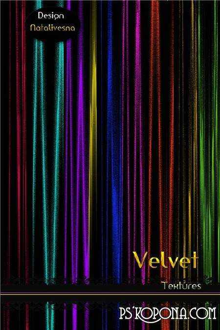 Velvet textures for Photoshop ( free textures, free download )
