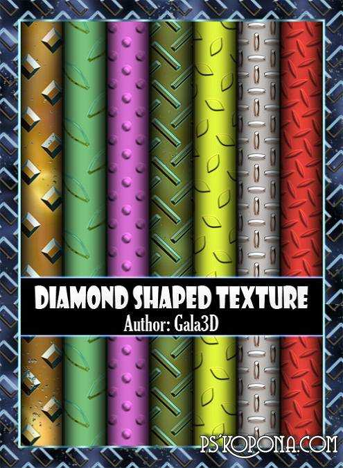 Textures of the Diamond-Shaped