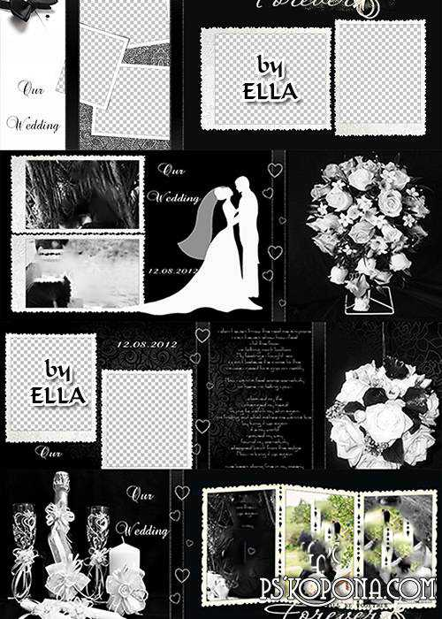 Excellent album for newlyweds - Wedding Elegance