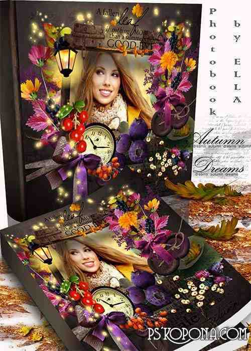 Beautiful Autumn photobook- Autumn dreams