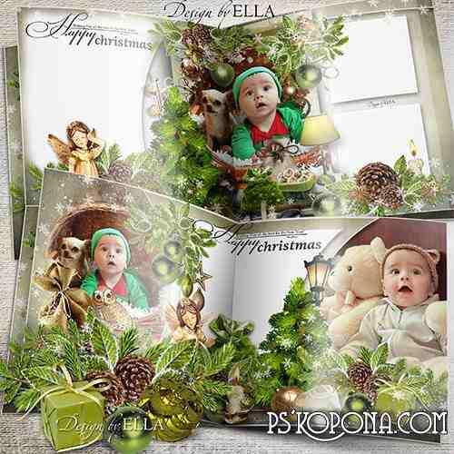 Beautiful Christmas photobook -On Christmas Eve