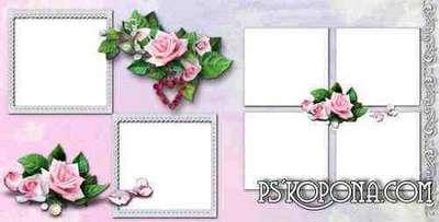 Romantic Photobook template psd - Eternal Love