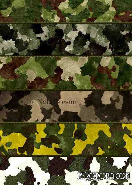 Textures - Camouflage ( free Camouflage textures, free download ) updated + 30 textures, preview - original size