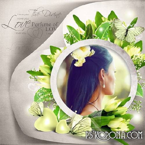 Romantic Scrap Kit png - Scent of Love - Free download