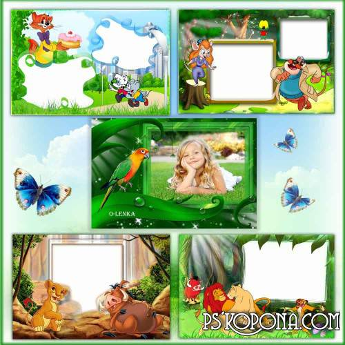 Frames for photoshop free download - Children's