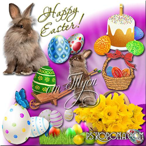 Clipart Easter - Let life be full of warmth, hope, faith and goodness