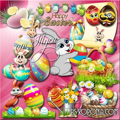 Clipart Easter - Bright and sunny on Bright Easter