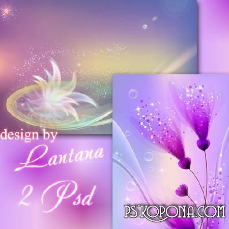 PSD source - Purple fantasy