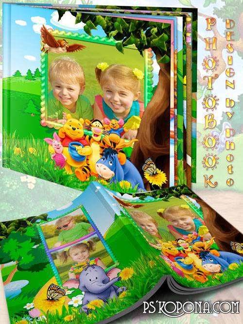 Baby album - Winnie the Pooh and friends