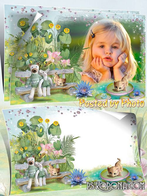 Baby photo frame - Tale